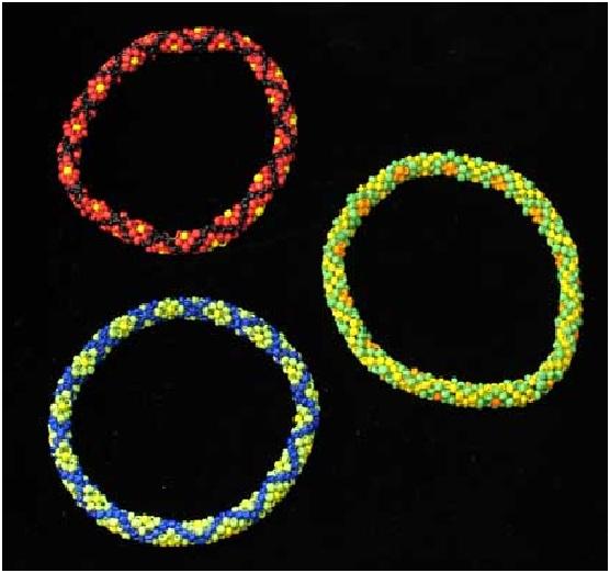 Схема плетения жгута: