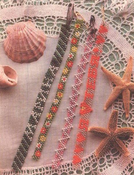 Сплести браслет из бисера для не умеющих плети из бисера.