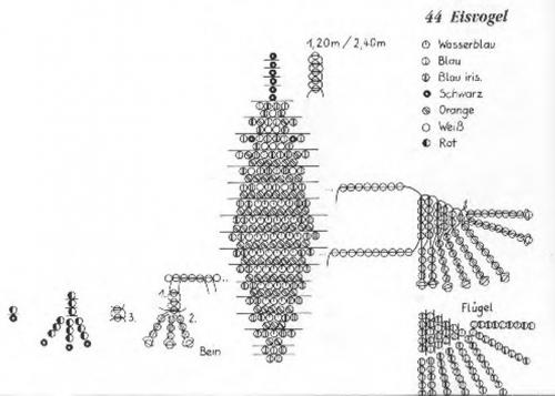 плетение колибри