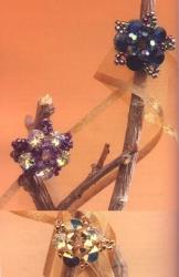делаем кольца из кристаллов