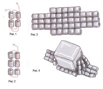 схема кольца из рубки