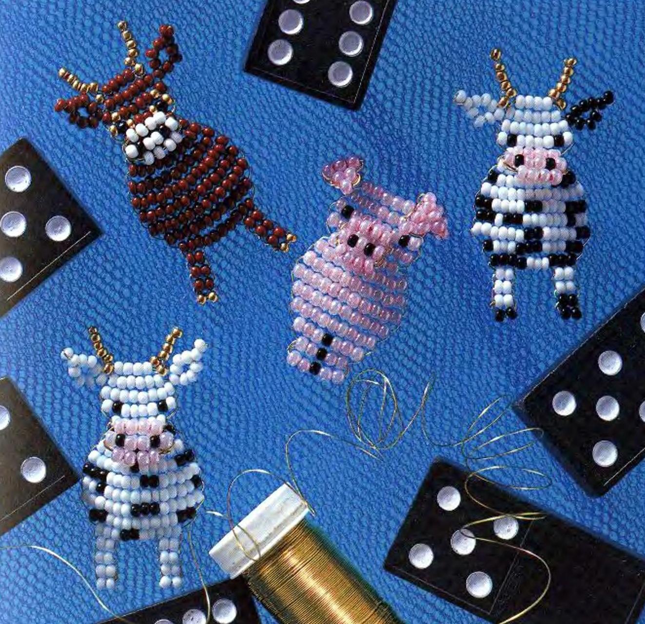 Схемы плетения: