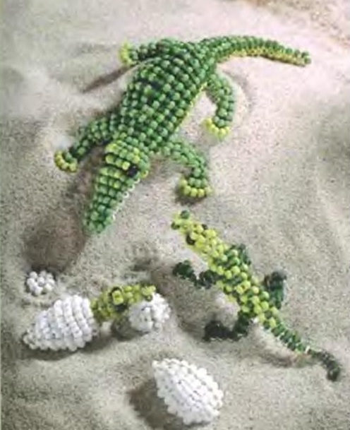 зеленые крокодилы
