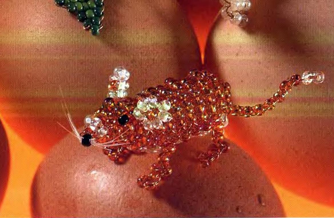 Мышка из бисера схема плетения фото 960