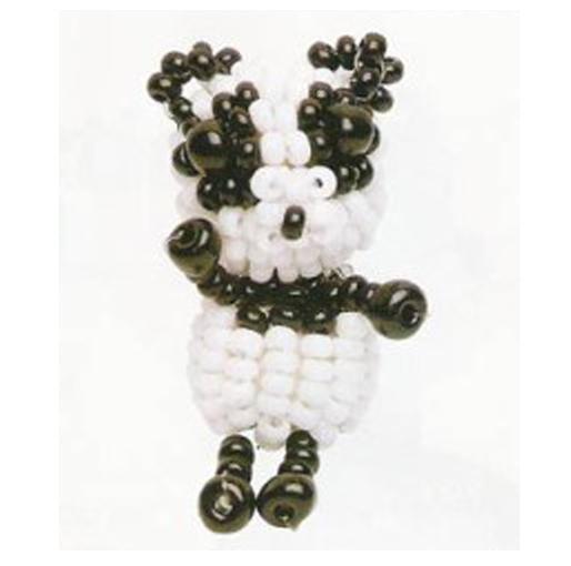 Панда из бисера Схема плетения: Бурый медведь Схема его плетения: Что необходимо для работы: - коричневый бисер...