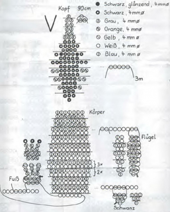 плетение пингвинов