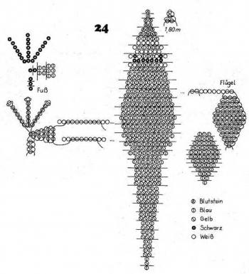 схема его плетения