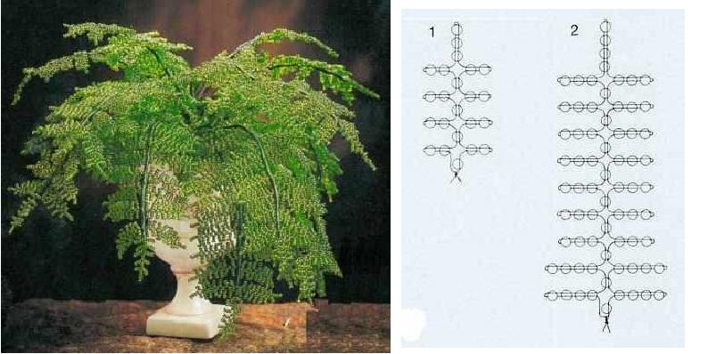 цветы из бисера схемы - Практическая схемотехника.