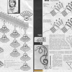 Браслеты и колье смотрятся необыкновенно.  Понятные схемы помогут изготовить изделия своими руками.