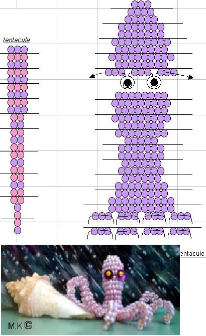 Сиреневый осьминог