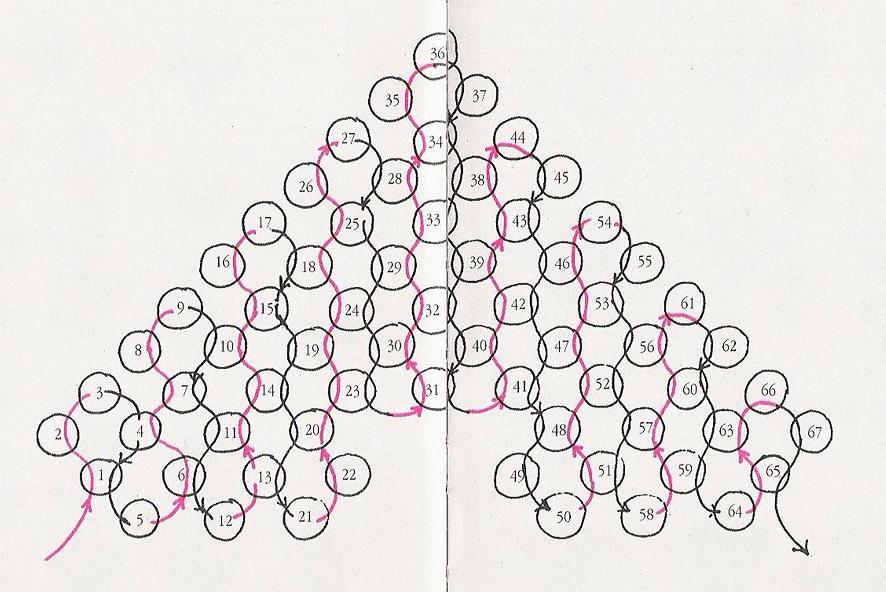 Сердце из бисера Автор: Sylvia Источник изображений журнал: BeadWork Это сердце плетется мозаичным плетением и из...