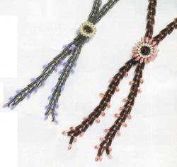 плетем украшения из бусин