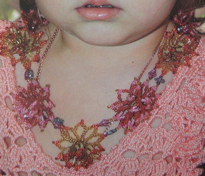 Детское украшение с цветами