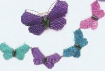 разноцветные бабочки из рубки