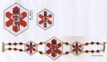 Подробные схемы для плетения браслетов из бисера и рубки своими руками.