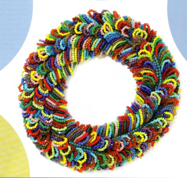 Автор: Admin Дата: 31.10.2013 Описание: Схема плетения маленького объемного паучка из бисера и бусин 1 крупная.