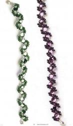 браслеты змейки из бисера