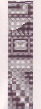 бисероплетение схемы браслетов на станке с российским флагом - Город бисера.
