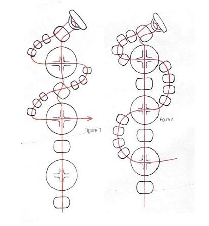 схемы браслетов из бисера адидас - Сумки.