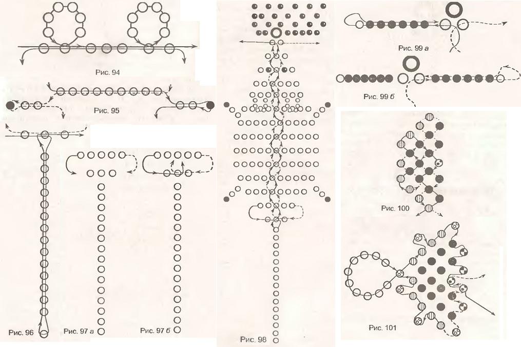 Схемы плетения зверушек из