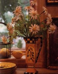 красивый букет цветов ромашек