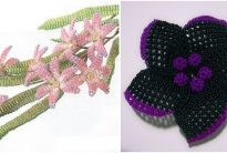 Хионодокса и цветок-брошь