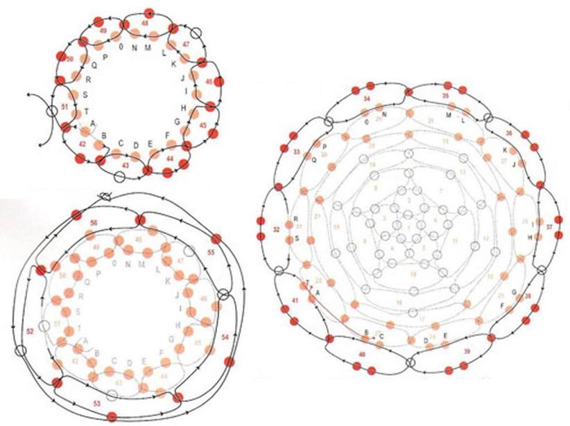 Плетение из бисера схемы апельсин