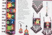 разноцветные изделия из бисера