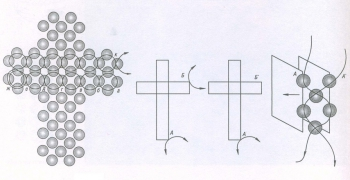 плетем крестик из бисера