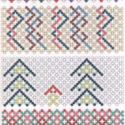 схема плетения изделий к пасхе