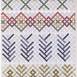 схема орнамента для яйца