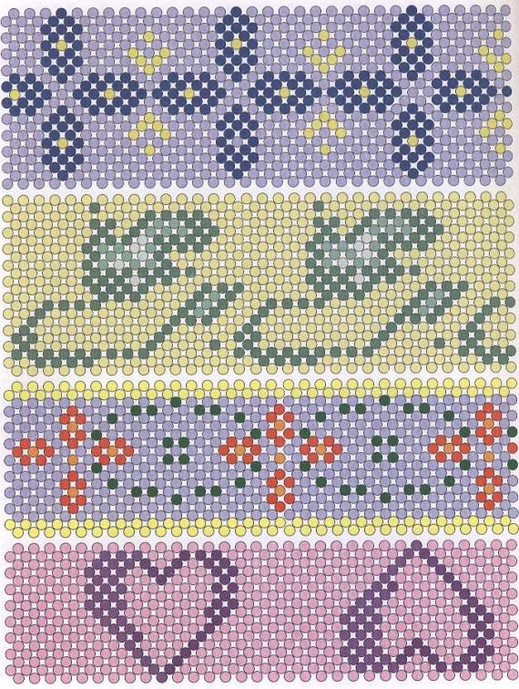 пасхальные изделия из бисера. схема пасхальных изделий из бисера.