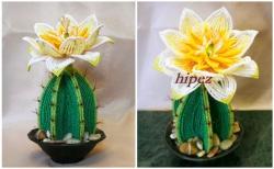 плетение кактуса из бисера