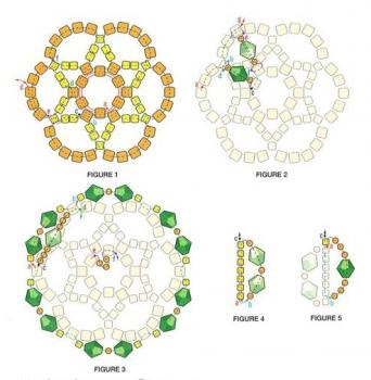 плетение украшение из бисера и кристаллов
