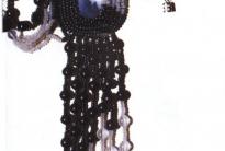 кулон ХХI век из бисера