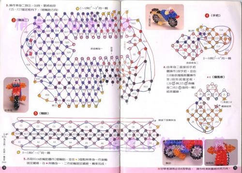 как сплести игрушечный мотоцикл