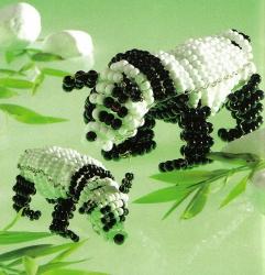 плетение панды