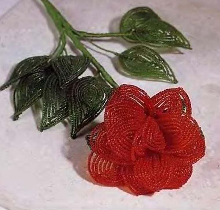 цветок розы своими руками