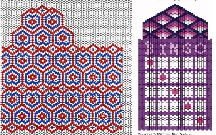Поделки из бисера со схемами - Поделки.