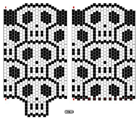 Кирпичное плетение из бисера схемы - Делаем фенечки своими руками.