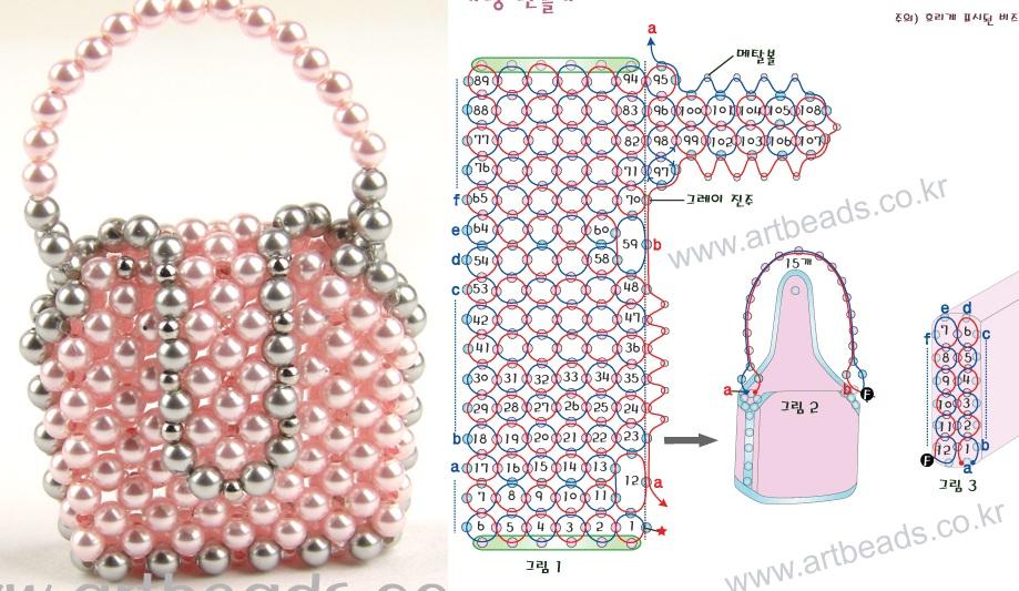 Бисерные сумочки от Luchs.  Изготовления сумочек, чехлов для мобильных телефонов из бисера подробные схемы плетения...