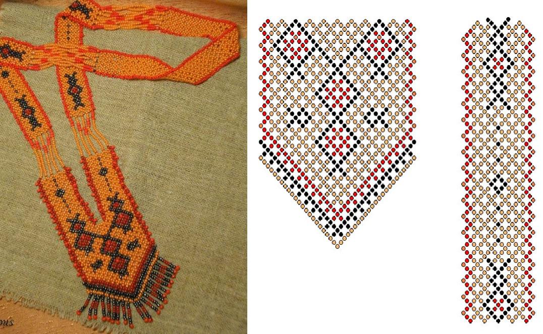 Схема плетения поможет вам.