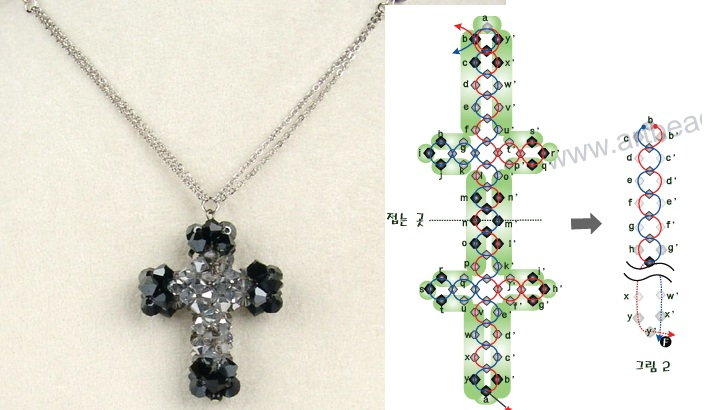 Изображения крестик из...  Вязаные красивые пинетки Крестики схемы плетения бисером из бисера как правильно плести .