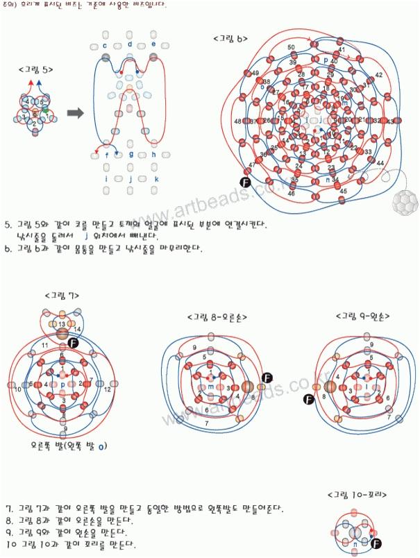 Техника плетения «по кругу».
