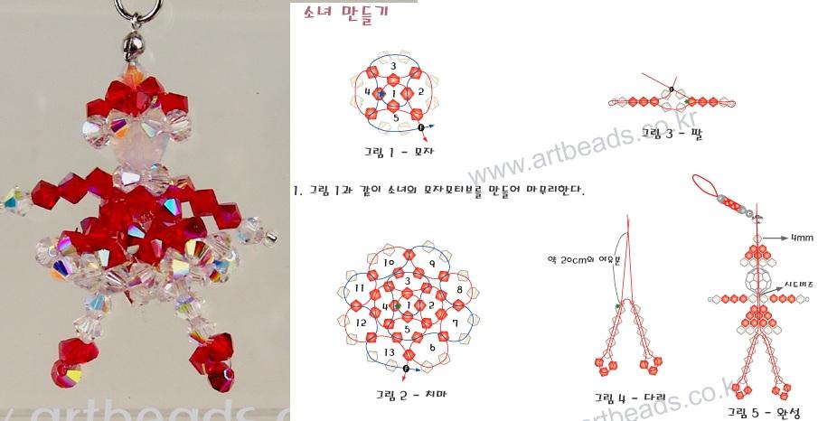 Схема вязания крючком бульдога