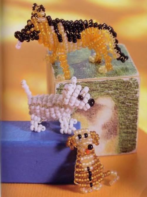 плетение собак
