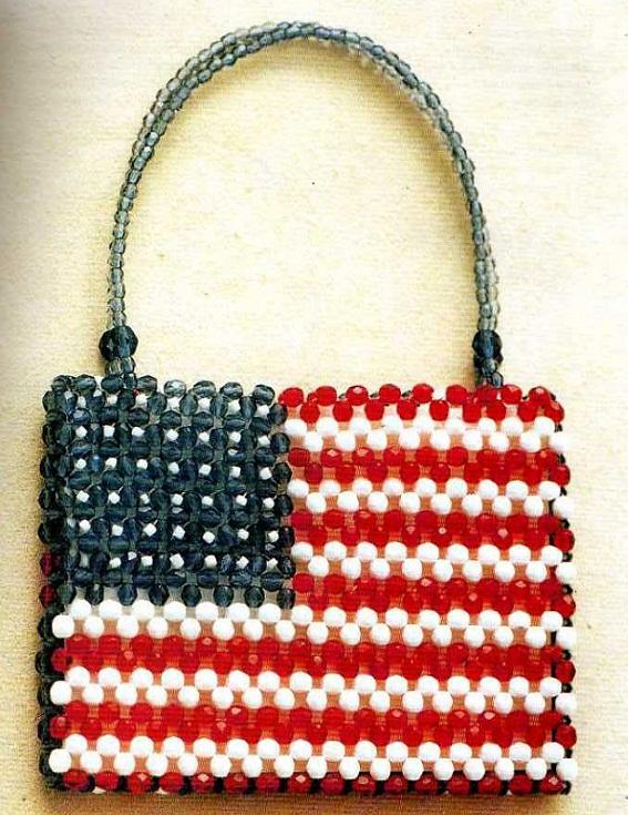 сделать американский флаг,