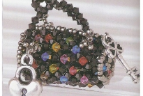 сумка из кристаллов