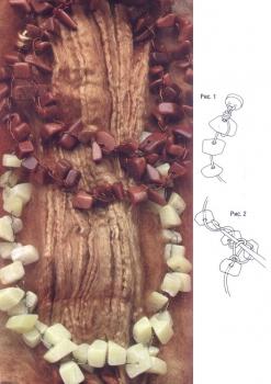 украшения из камней-крошки
