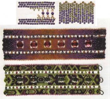 бисер и браслеты оригинального вида